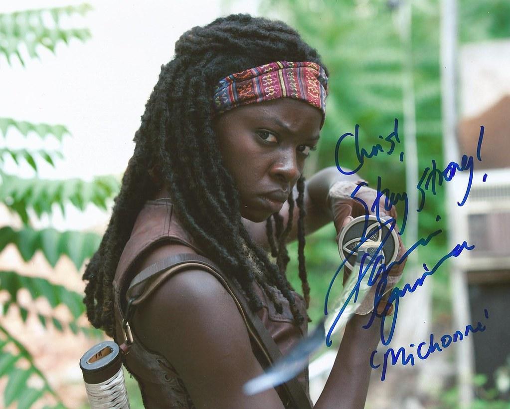 Danai Gurira Michonne The Walking Dead