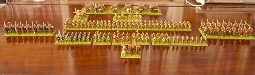 Roman Army on Parade