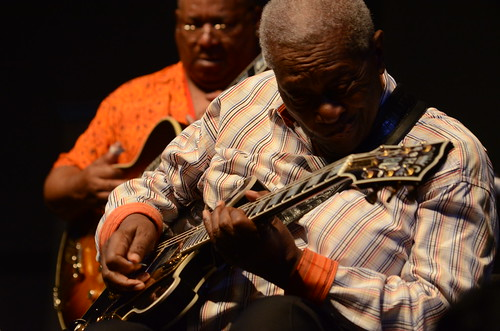 BB King.  Photo by Hunter King.