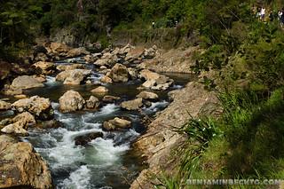 Stream at Karangahake Gorge   by Benjamin Beck