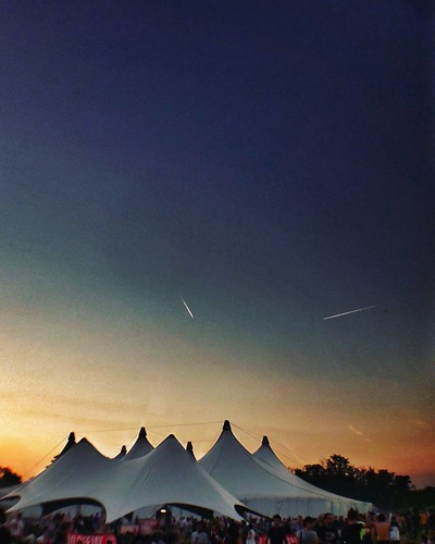 Sunset @idaysfestival  #Sunset #Colorful #colors #music #Festival #tent #Airplane #sky #blue #photography #photo #photooftheday #picoftheday #follow #followme #likesforfollow #igers #instago #instagood #idays #life | by Mario De Carli
