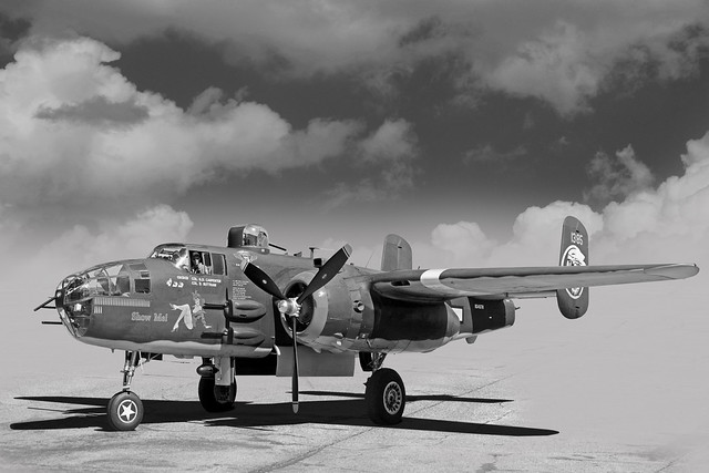 B-25J Mitchell Bomber - Show Me - (In Explore)