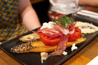 Prosciutto, with tomatoes on toast | by twoMunch
