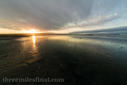sunset canada beach water nova fog canon bay sand atlantic scotia 1ds glace threemilesfinal