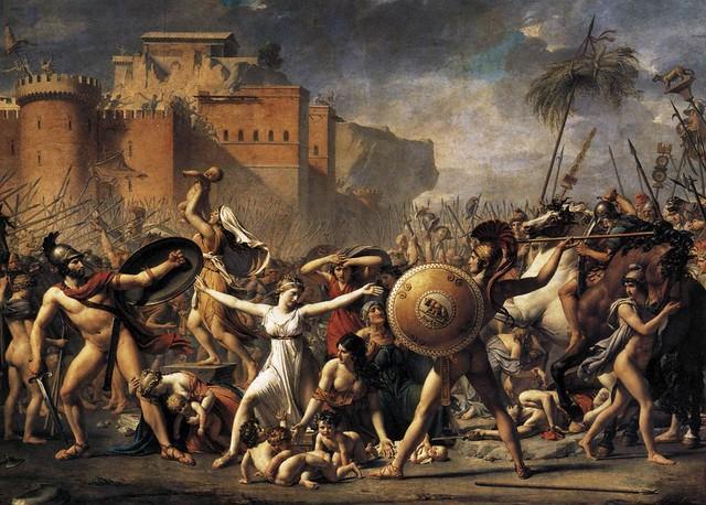 +1799 Las sabinas se interponen entre romanos y sabinos