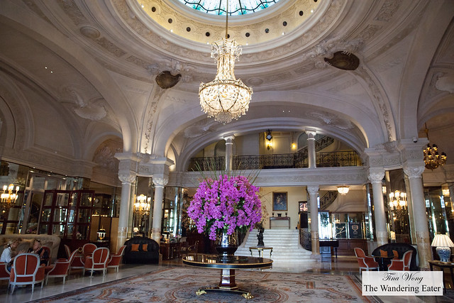 Lobby of Hôtel de Paris