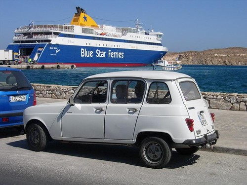 Renault 4 & Blue Star Ferry | by Mr Lobster