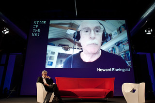 Howard Rheingold at SotN13 | by State of the Net
