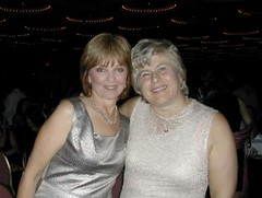 Nora Roberts with Donna MacMeans