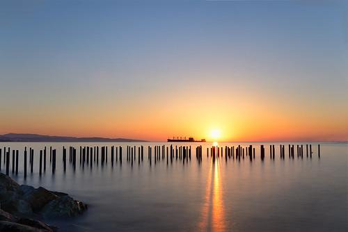 port sunrise landscape day clear d800 limassol 2470f28 λεμεσοσ charlescharalambous