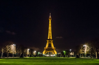 Another typical photo of the Eiffel Tower at night | by Alexander Kachkaev