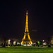 Another typical photo of the Eiffel Tower at night