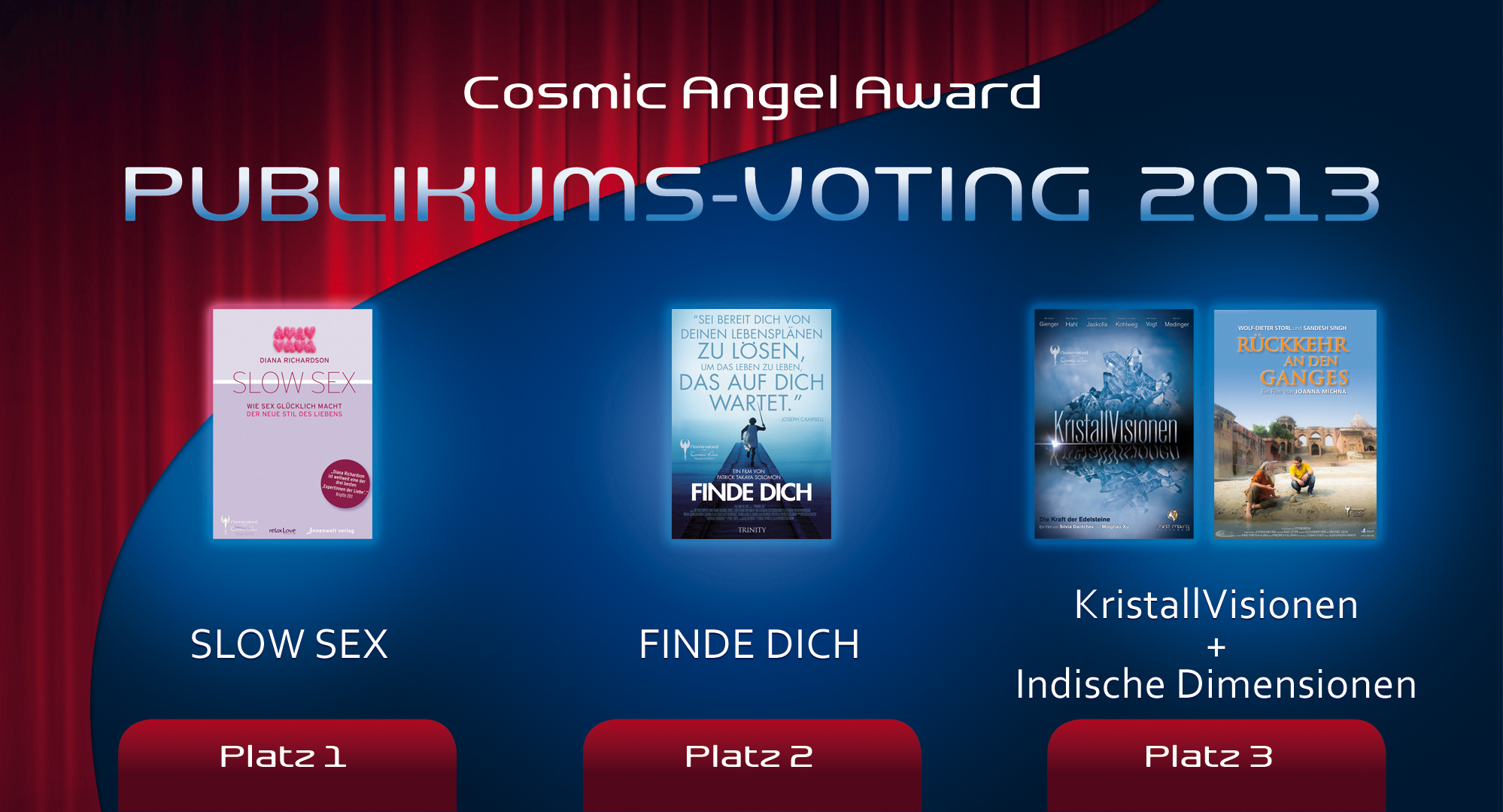 01 Cosmic Cine Filmfestival 2013 - Cosmic Angel Award 2013 PUBLIKUM