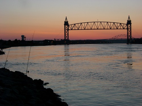 bridge sunrise capecod massachusetts cape bourne pmc buzzardsbay capecodcanal panmasschallenge