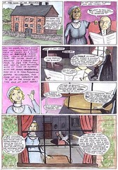Pride and Prejudice, the comic, page 1   by ArtGhost
