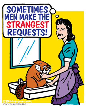 Confirm. And the shaved beaver recommend you