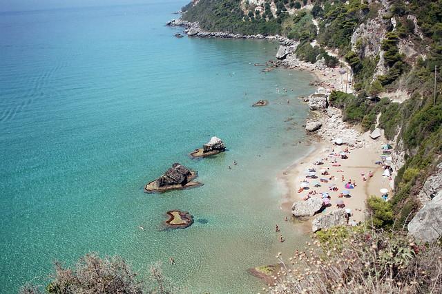 Korfu, Mirtiotissa Beach (Nudist Beach) Photo from