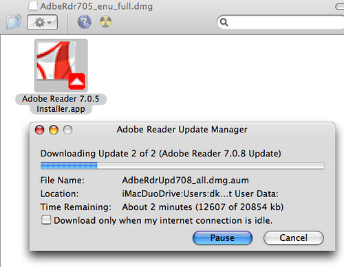 Dreaded Adobe Reader Installer | The gory details are availa… | Flickr
