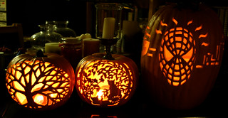 A few carved pumpkins that I've made over the years | by artbeco