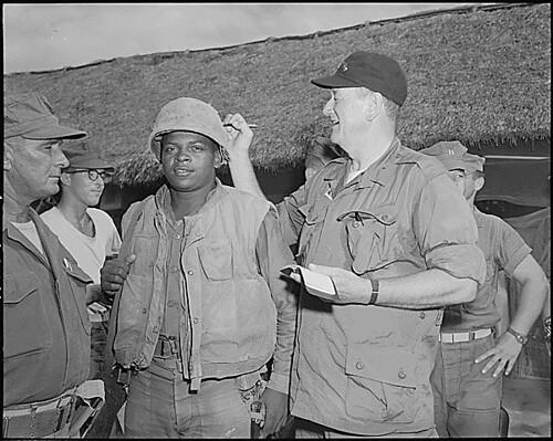 Public Domain: John Wayne in Vietnam by Fleetwood (NARA