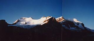 Mt. Athabasca Aug. longweekend 1986