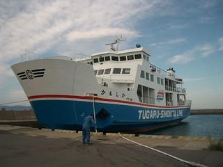 "ferry ""Kamoshika"" in Kanita port | by tsuda"