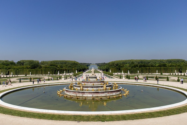 Die Gärten von Versailles.