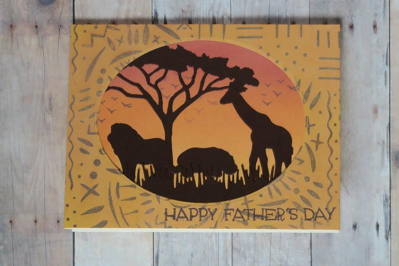 Hero Arts Safari Fathers Day