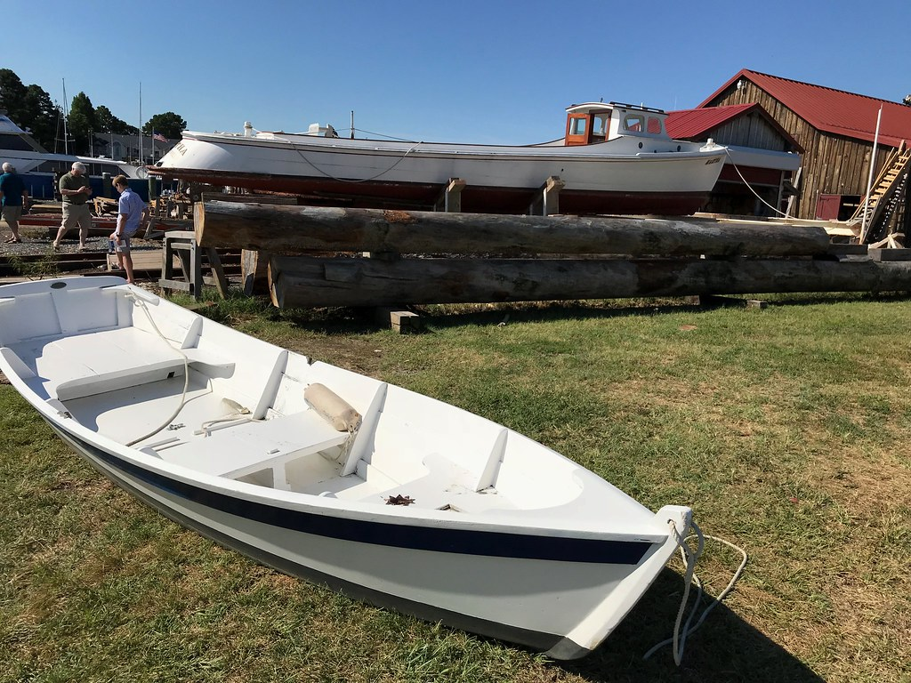Juxtaposition | Examples of Chesapeake boat building, with t