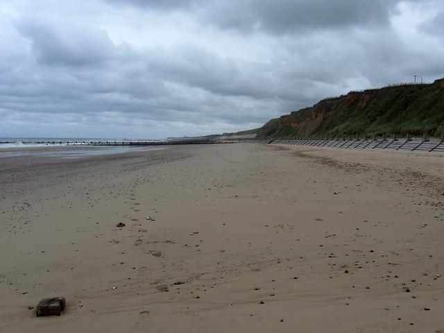 The coast near Bacton