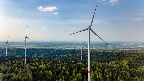 Windkraftanlagen im neuen Windpark Straubenhardt | by marcoverch