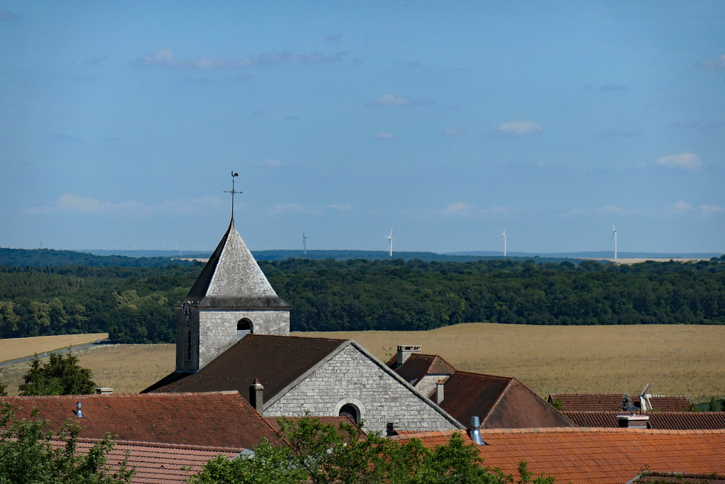 Church And Rooftops Of Colombey Les Deux Eglises A Visit Flickr