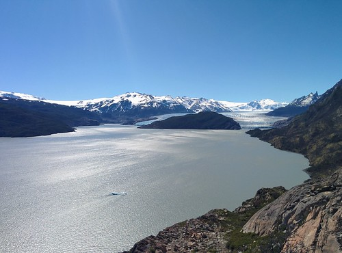 Grey Glacier from Lago Grey mirador | by steve.upton