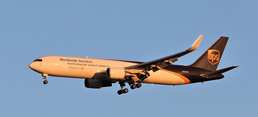 N354UP - Boeing 767-34AF(ER) - UPS Airlines -EWR- STN 260618