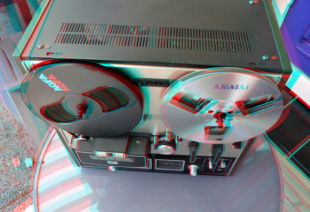 AKAI Tapedeck GX210D 3D