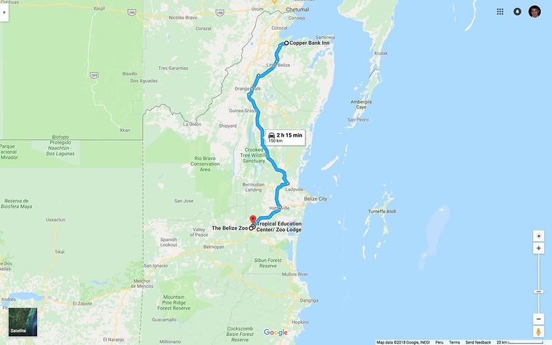 Map_Belize_ToBelizeZoo