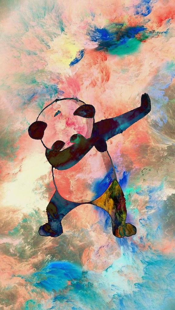 ... Fortnite Wallpaper : iPhone Dabbing Panda Wallpaper | by Kw GeeK