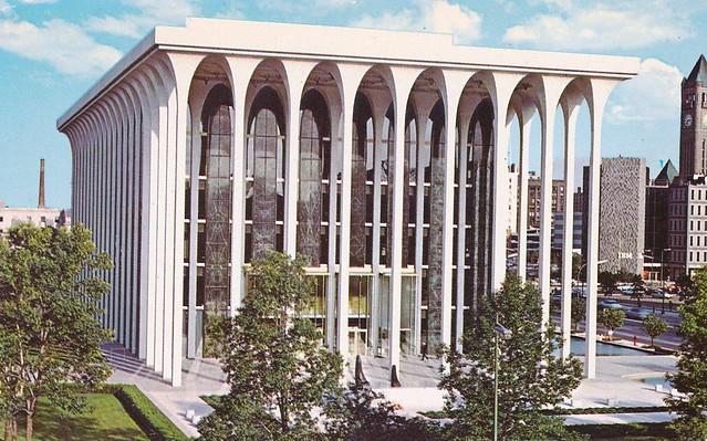 Northwestern National Life Insurance Company - Minneapolis, Minnesota (Architect: Minoru Yamasaki) - 1960s