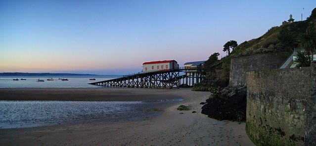 The slipway at dusk
