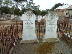 Early graves, Uniting Church (Wesleyan) Cemetery, Willunga