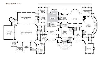 minecraft mansion house layout