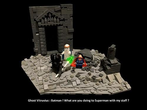 The Lego Batman v Superman Movie
