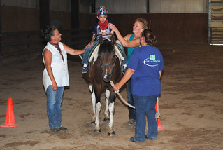 Horse Therapy, Rosewood Ranch 2016