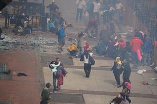 Boston Marathon Bombing | by hahatango