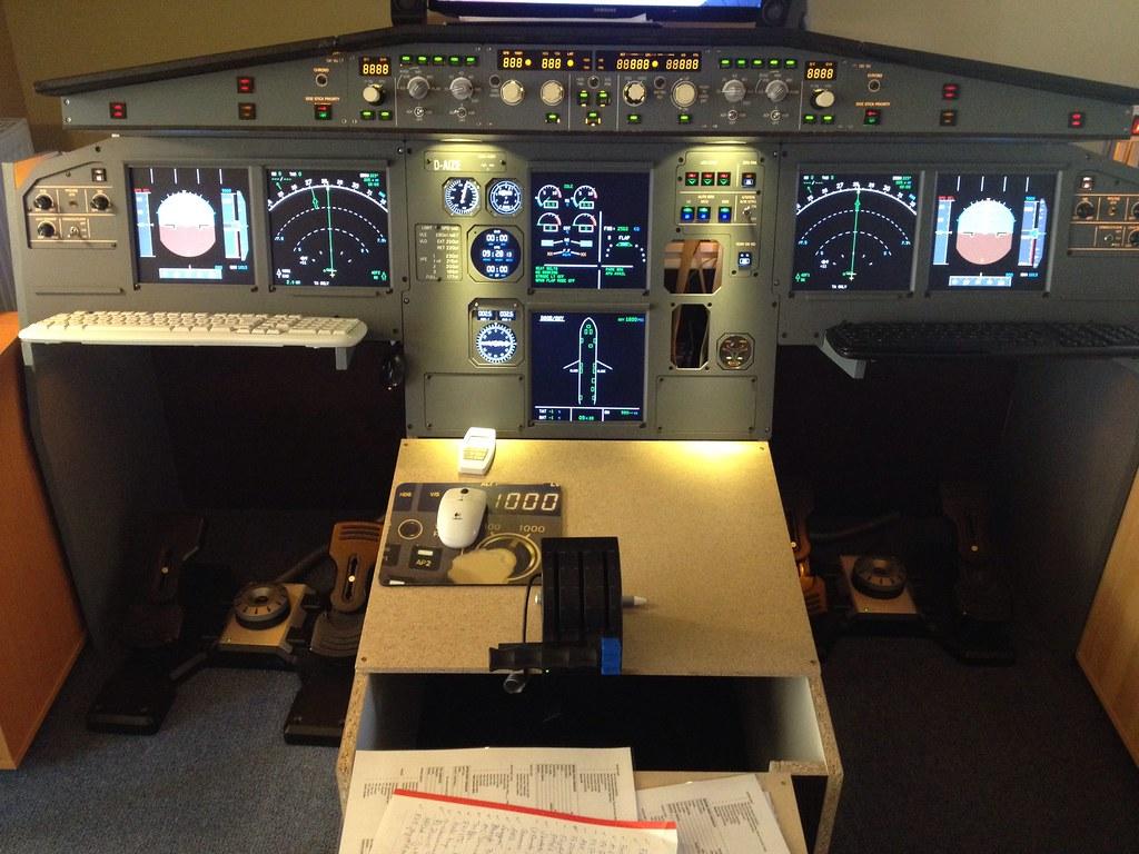 D-AIZE A320 Home-Cockpit | D-AIZE | Flickr