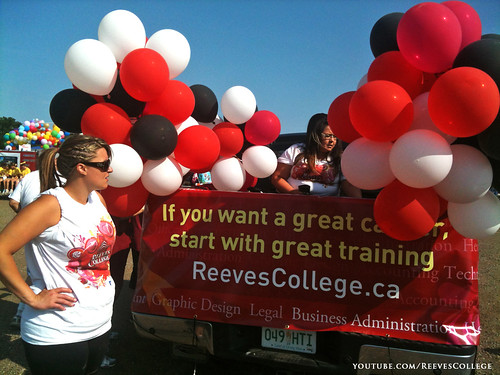 Reeves College Participates in Colonial Days Parade in Lloydminster Alberta 012