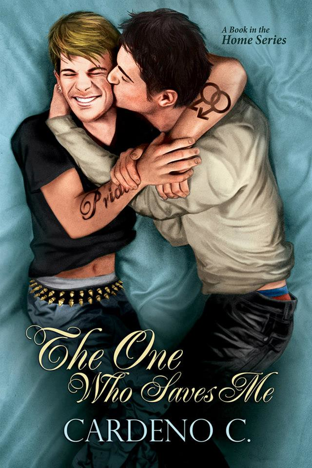 The One Who Saves Me Gay Romance Novel Cover Art By Paul