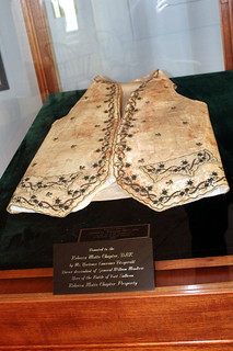 Charleston: Old Exchange and Provost Dungeon - General Moultrie's waistcoat | by wallyg