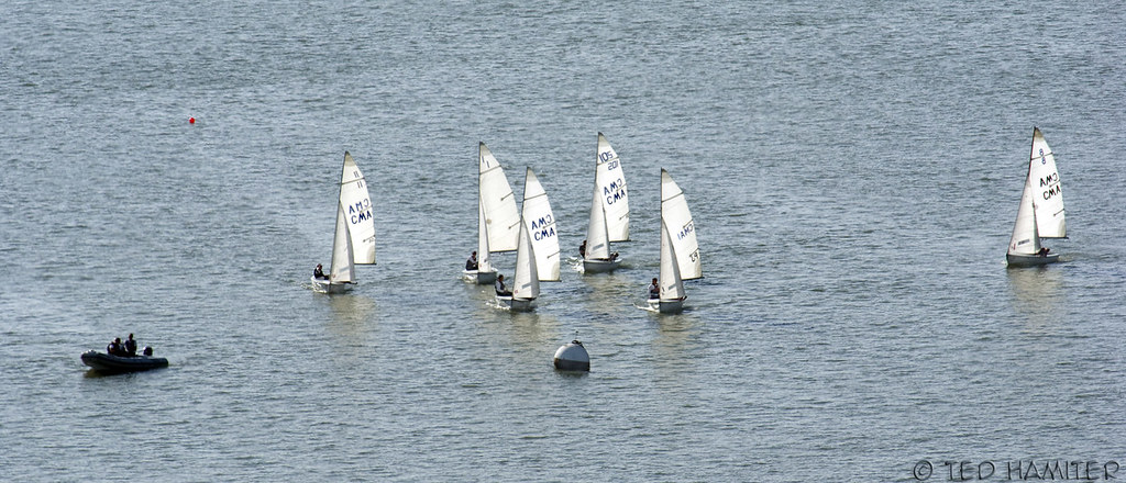 Cal Maritime Sailboats | Rounding the buoy again  | Flickr