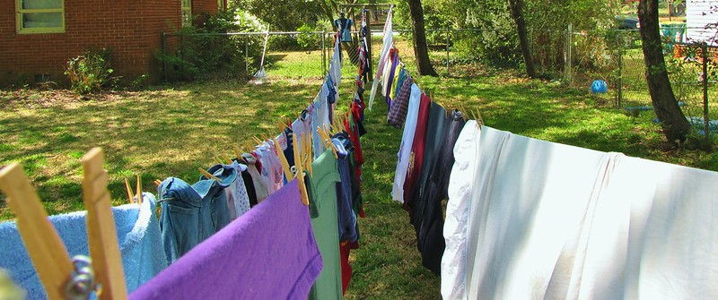 Hung Out to Dry - Evaporation